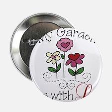 """My Garden 2.25"""" Button"""