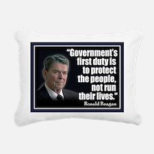 Reagan Anti Progressive Rectangular Canvas Pillow