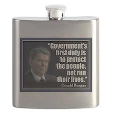 Reagan Anti Progressive Flask