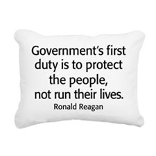 Ronald Reagan Quote Limited Government Rectangular
