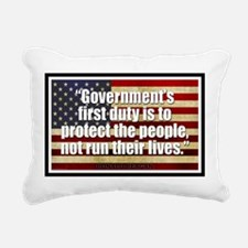 Ronald Reagan Quotes Rectangular Canvas Pillow