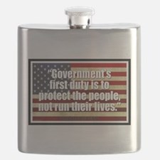 Ronald Reagan Quotes Flask