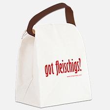 got fleishigs? Canvas Lunch Bag