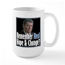 Reagan: Real Hope & Change Mug