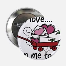 """With Love 2.25"""" Button"""