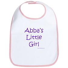 Abba's Little Girl Bib