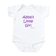 Abba's Little Girl Infant Bodysuit