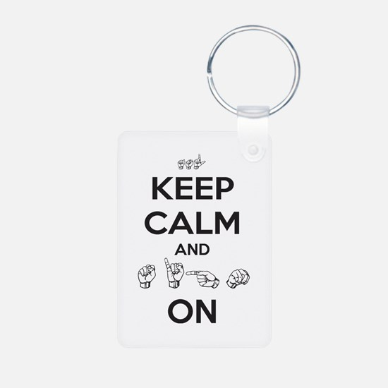 Sign On Keychains