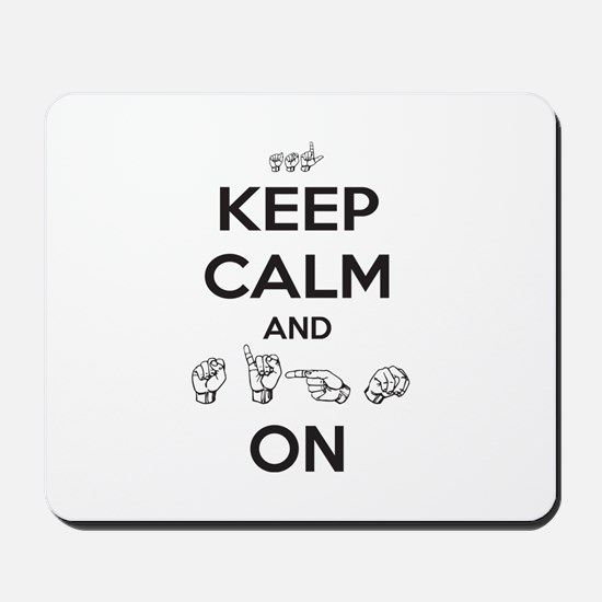 Sign On Mousepad