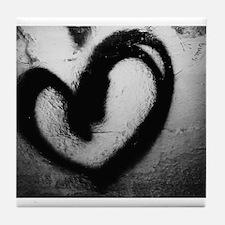 Love Graffiti Tile Coaster