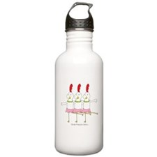 three French hens Water Bottle