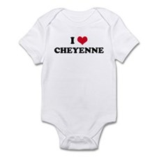 I HEART CHEYENNE Infant Creeper