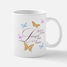 Live, Laugh, Love Simply Butterflies Mug