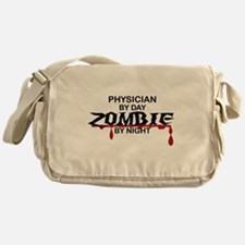 Physician Zombie Messenger Bag