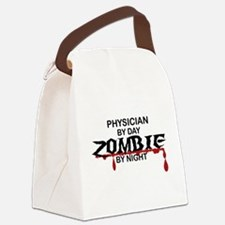 Physician Zombie Canvas Lunch Bag