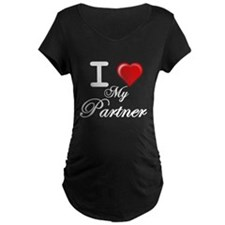 i love my partner wht.png T-Shirt
