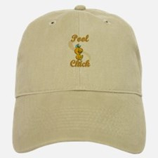 Pool Chick #2 Baseball Baseball Cap