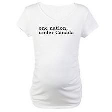 One Nation Under Canada Shirt