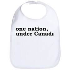 One Nation Under Canada Bib