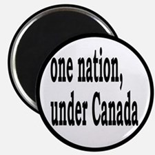 One Nation Under Canada Magnet