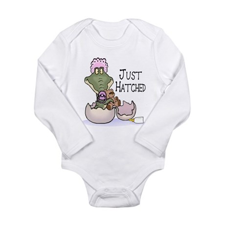 Just Hatched - Pink Infant Creeper Body Suit