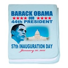 57th Presidential Inauguration baby blanket