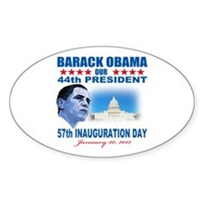 57th Presidential Inauguration Decal