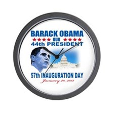 57th Presidential Inauguration Wall Clock