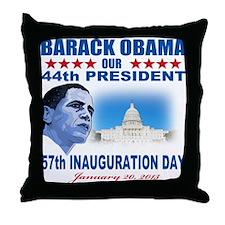57th Presidential Inauguration Throw Pillow