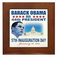 57th Presidential Inauguration Framed Tile