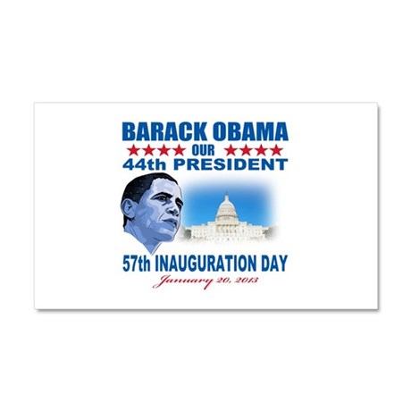 57th Presidential Inauguration Car Magnet 20 x 12