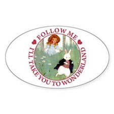 Follow Me To Wonderland Decal