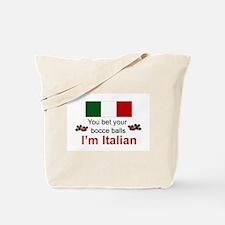 Italian Bocce Balls Tote Bag