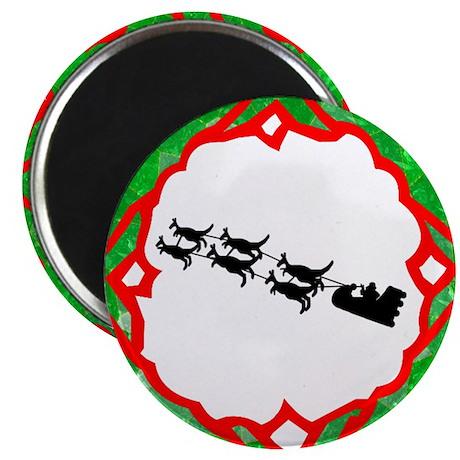 Australian Santa Magnet