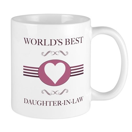 Daughter-In-Law w/ Heart Mug