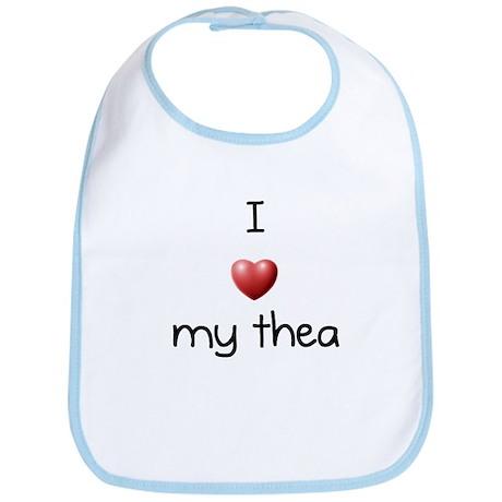 I Love Thea Bib