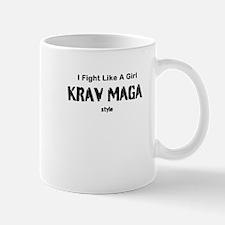 Fight Like A Girl Krav Maga Style Mug