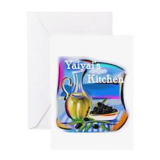 YiaYia's Kitchen Greeting Card