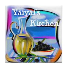 YiaYia's Kitchen Tile Coaster