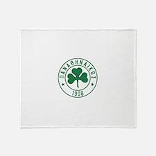 Panathinaikos.png Throw Blanket