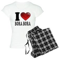 I Heart Bora Bora Pajamas