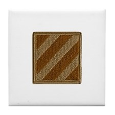"""NEW! 3ID """"Stealth"""" Patch Tile Coaster"""
