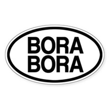 Bora Bora Bumper Stickers