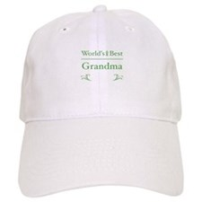 Floral Grandma 1 Baseball Cap