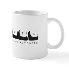 /afk Keys - Black Letters Mug