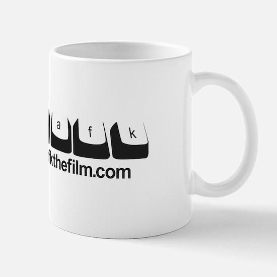 /afk Keys - Black Letters w/Site Mug