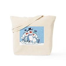 3 snowman.jpg Tote Bag