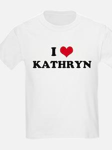 I HEART KATHRYN Kids T-Shirt