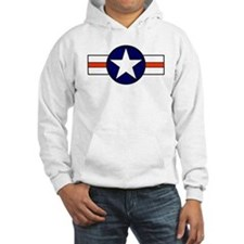 The USAF Red Stripe Shop Hoodie