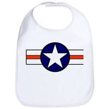The USAF Red Stripe Shop Bib
